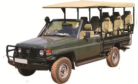 Safari Cruiser Open Game Drive – Rajinder Africa